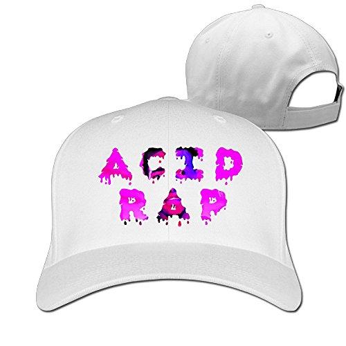 BODAP Chance The Rapper - Acid Rap Album Adjustable Mesh Hat White
