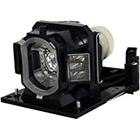 AuraBeam Economy Hitachi TEQ-Z782WN Projector Replacement Lamp with Housing