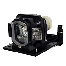 AuraBeam Economy Hitachi TEQ TEQ-Z782WN Projector Replacement Lamp with Housing