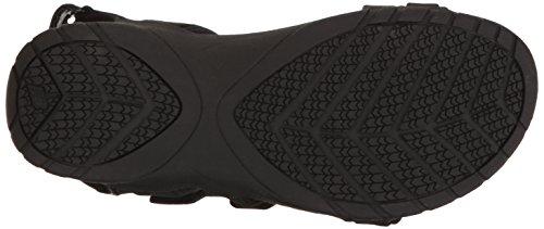 Nuovo Sandalo Da Donna In Pelle Maya Nero