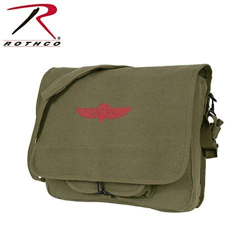Rothco-Canvas-Israeli-Paratrooper-Bag-Olive-Drab
