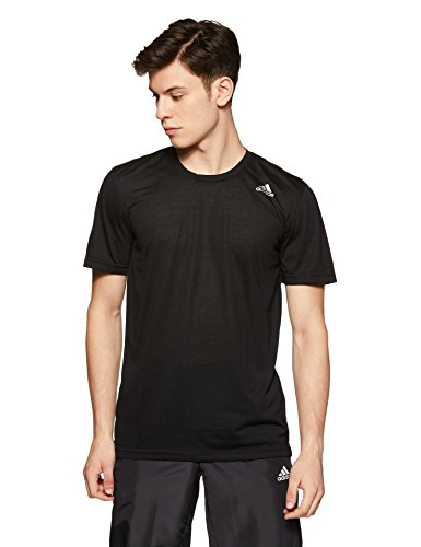 Adidas Men's Banded Collar Cotton T-Shirt