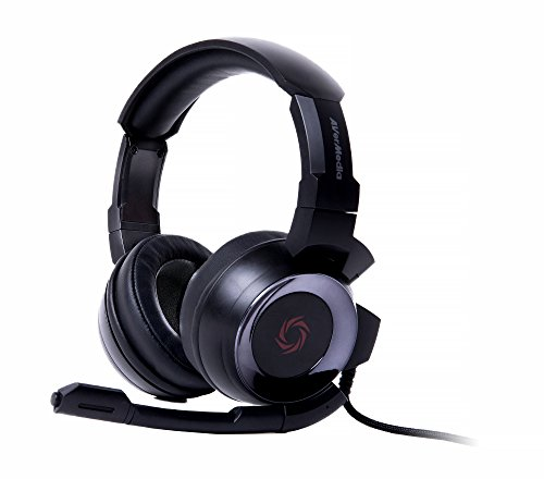 AVerMedia SonicWave 3.5mm Gaming Headset for PC, Xbox One, PS4, Nintendo Switch (GH335)