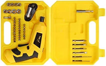 TNI-U 電池残量表示付 46 4V 1におけるバッテリードライバー充電式コードレス電動ドライバーセット修復ツールキット