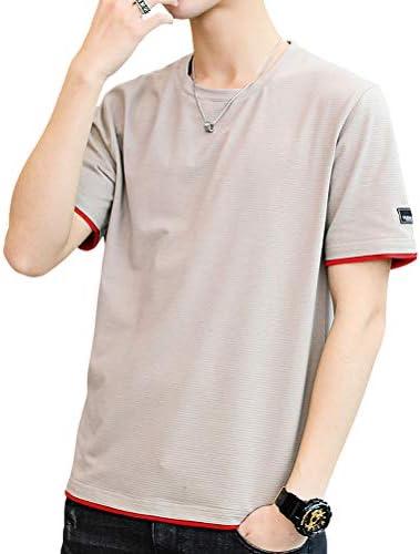 Tシャツ メンズ 夏服 半袖 ゆったりシャツ レジャーtシャツ 無地 綿 軽い 柔らかい おしゃれ メンズ トップス 夏季対応 人気