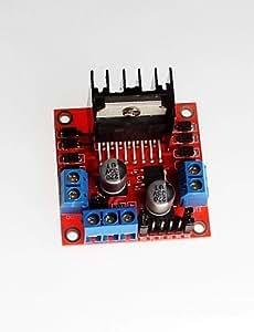 FJAMEI@ nuevo tablero de conductor del motor L298N / módulo de motor paso a paso / robótica originales