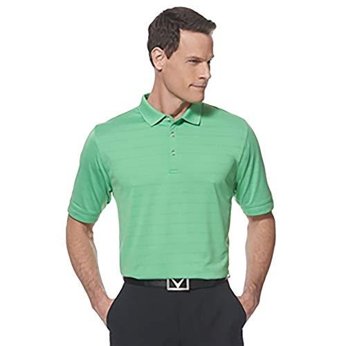 Callaway Mens Short Sleeve Opti-Vent Open Mesh Polo