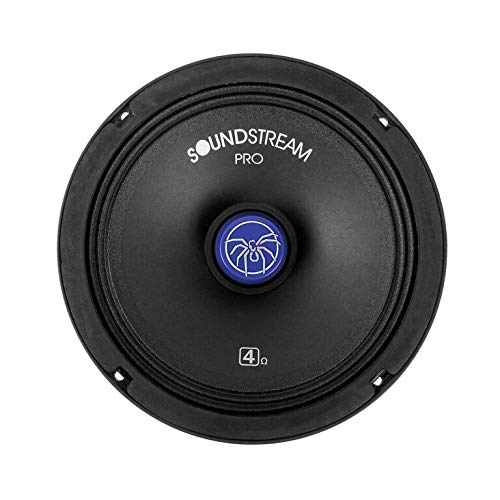 Soundstream SM.800PRO 8 Inch 200 Watts RMS Pro Audio MID-Range Speakers PAIR 4 Ohm (400W Max) by Soundstream (Image #4)