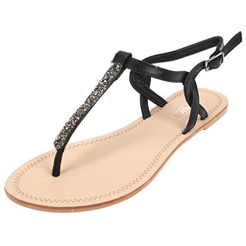 Nr l Sandales margit l Nr Only margit Split Sandale Only Sandale Split Noir 1UvwvIq