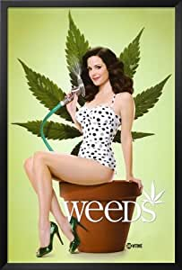 Professionally Framed Weeds Nancy Mary-Louise Parker TV Poster Print - 24x36 ...