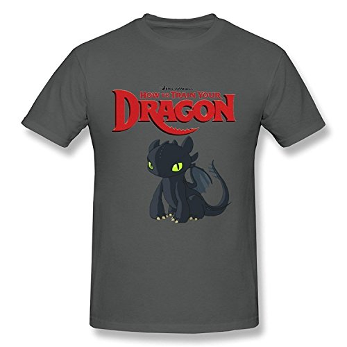 WunoD Men's How To Train Your Dragon T-shirt Size M