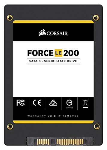 Corsair Memory Only Corsair Force Series LE200 SSD, SATA 6Gbps 120GB 2.5 inches CSSD-F120GBLE200B by Corsair (Image #2)'