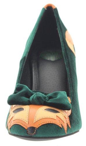 T Verde k De Tela Mujer Cerrado u rwrqSY4f