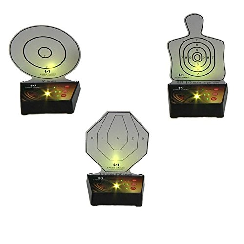 Laser Ammo Interactive Multi Training Targets (3 Pack)