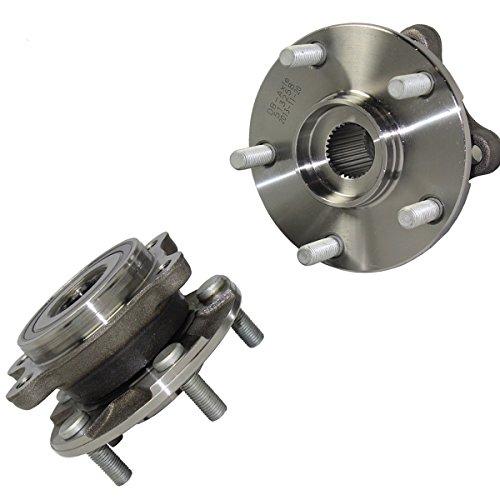 (Detroit Axle - Front Wheel Hub and Bearing Assembly Pair for - 2011-2016 Scion tC Manual Transmission - [2006-2012 Toyota Rav4 3.5L] - 2013-2017 Toyota Rav4)