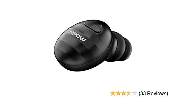 Amazon.com: Mpow EM6 Single Mini Bluetooth Earbud, V4.1 Wireless Earbud with Mic, Invisible Headphone with 6 Hour Playtime, Car Bluetooth Headset for iPhone ...