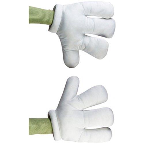 Fun World Unisex-Adult's Cartoon Hands Costume Accessory, white, Standard]()