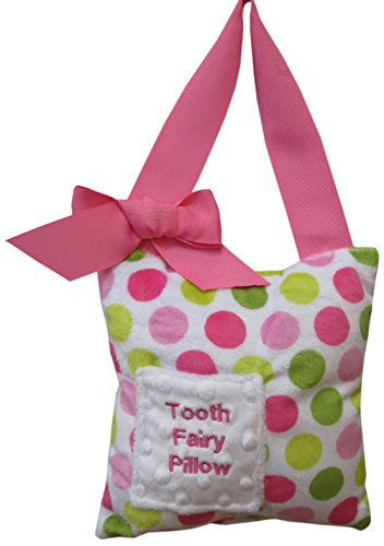 Caught Ya Lookin' Tooth Fairy Pillow, Watermelon Dot, Pink, Green/White from Caught Ya Lookin'