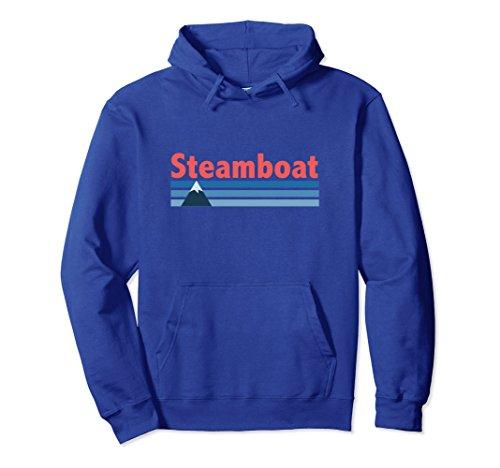 Unisex Steamboat, Colorado - Unisex Steamboat Hoodie Sweatshirt Medium Royal Blue