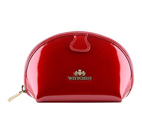 Wittchen Couleur cm La verni Rouge Collection 005 Cuir 25 12 taille cm Verona Vanity 3 3 Rouge x Largeur 17 w05qSrnw