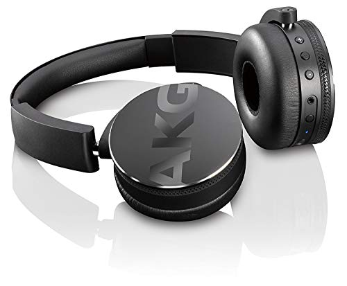 AKG Bluetooth Headphone Black - Headphones Akg Home Audio
