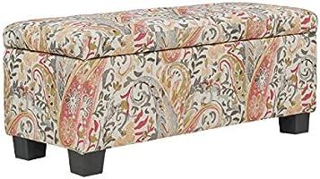 Admirable Amazon Com Handy Living Lasalle Coral Paisley Tufted Wall Beatyapartments Chair Design Images Beatyapartmentscom