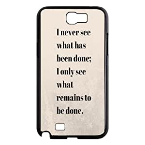Buddha Quote For Samsung Galaxy Note 2 N7100 Phone Cases GCD02024