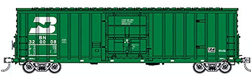 Fox Valley Models HO Scale 7-Post Boxcar Burlington Northern/BN (Green) #320193