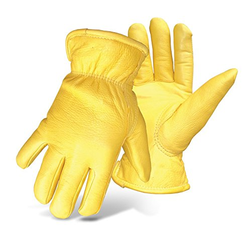 - Boss Gloves 7185L Boss Therm Premium Grain Deerskin Leather Driver, Large