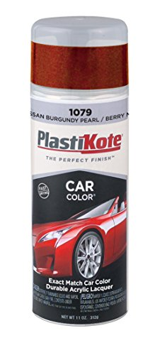 PlastiKote 1079 Nissan Burgundy Pearl and Berry Metallic Automotive Touch-Up Paint - 11 oz.