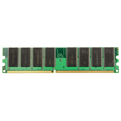 HITSAN 1GB DDR-266 PC-2100 184pins Non-ECC Desktop Memory RAM One (Pc 2100 Ddr266 Computer Memory)