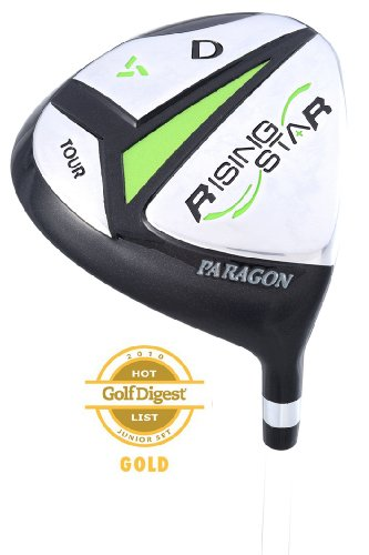 Paragon Rising Star Kids Junior #3 Fairway Wood Ages 8-10 Green/Right-Hand