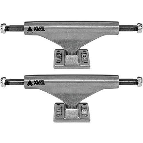拳博覧会アリーナTheeve Titanium CSX 5.5 Mid Raw Skateboard Trucks Includes Bones Bushings - 8.25 Axle (Set of 2) by Theeve