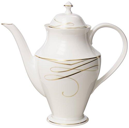 Waterford China Ballet Gold Beverage Pot