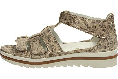 Waldläufer 351802-176-094 - Sandalias de vestir para mujer marrón