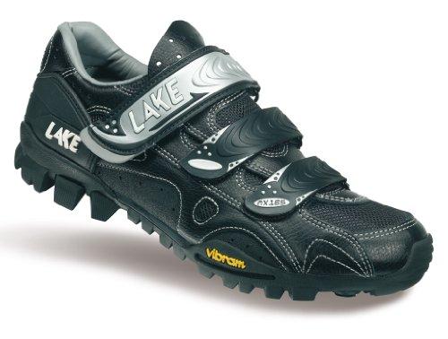Lake - Zapatillas de ciclismo para hombre Negro negro