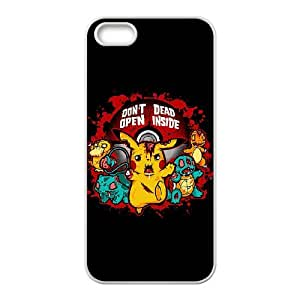 iPhone 5,5S Phone Case Cover pikachu ( by one free one ) P63957