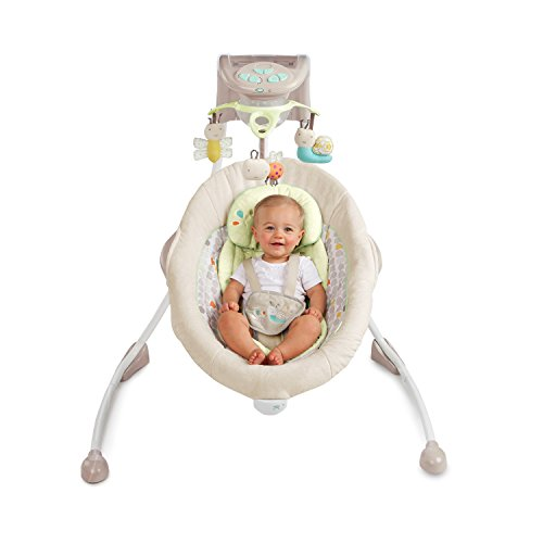 Ingenuity InLighten Cradling Swing, Seneca