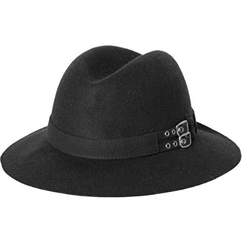 RVCA Women's Nemis Fedora Black Hat