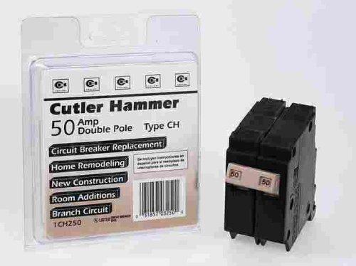 CUTLER HAMMER CH250CS DOUBLE POLE CIRCUIT BREAKER