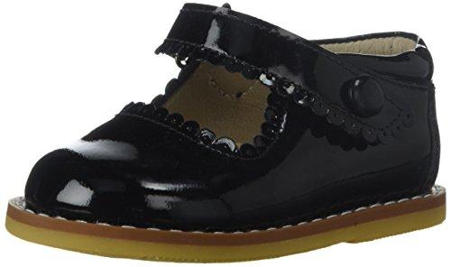 Elephantito Girls' Mary Jane Flat, Patent Black, 1 M US Little Kid for $<!--$73.00-->