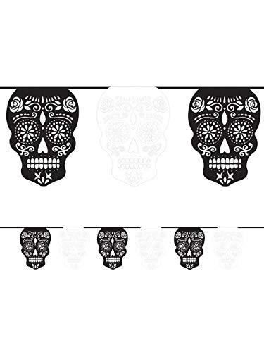 Black & Bone Flag Banner -