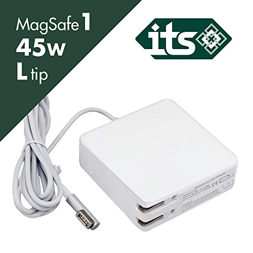 - Macbook Air Charger, 45W Power Adapter Magsafe 1 (L) Style Connector - ITS TM - Replacement Charger Apple Mac Book Air 11 inch/13 inch