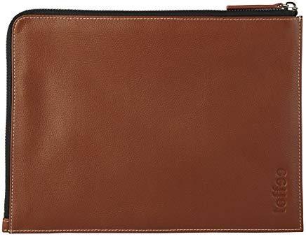 Toffee Toffee-iPad Air 1/2 Compatible Genuine Leather Sleeve case tan (Brown) Leather Corner Sleeve-iPad Air 1/2 TCS-IPA-T