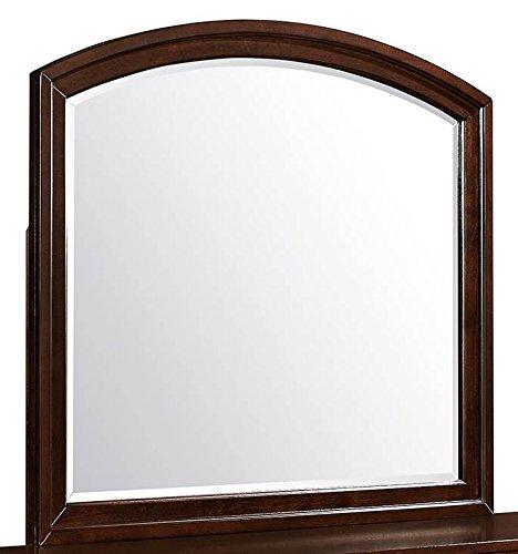 Global Furniture USA M Cole Mirror, Brown