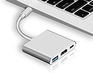 USB Type-C HDMI Cable Adapter 4K Ultra HD USB C HDMI for MacBook Samsung Galaxy S8 Huawei Mate 10 Pro Nintendo Switch USB-C HDMI