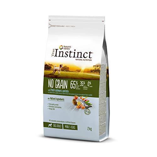 True Instinct Pienso sin Cereales para Perros Adultos de Razas Pequeñas, 2 kg, Pack de 1