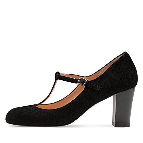 Evita Shoes - Zapatos de vestir de Piel para mujer Negro - negro