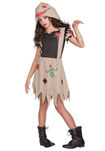 Girl's Voodoo Dolly Costume Medium/Large
