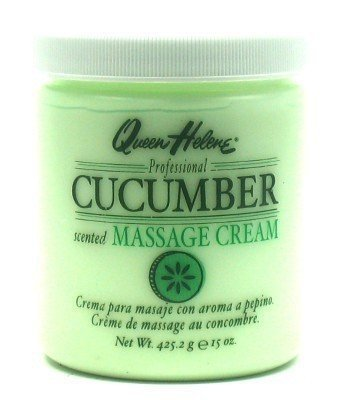 Queen Helene Cream Cucumber Massage 15 oz. (3-Pack) with Free Nail File Queen Helene Cleansing Cream